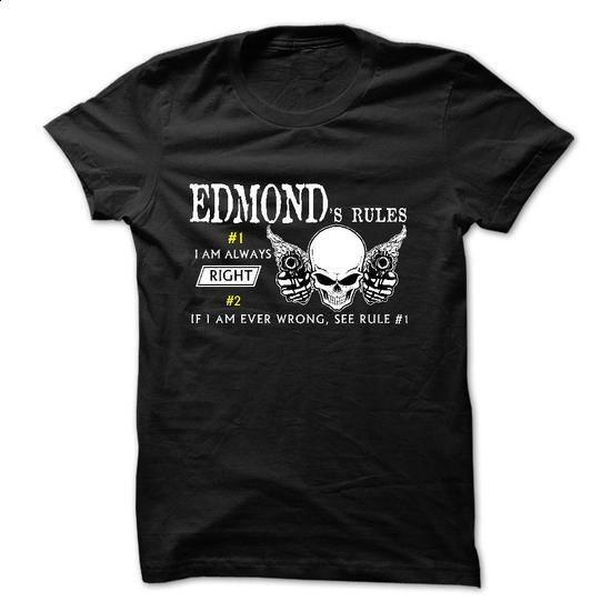 Sure EDMOND Always Right 1C^ - custom tshirts #boyfriend shirt #tshirt painting