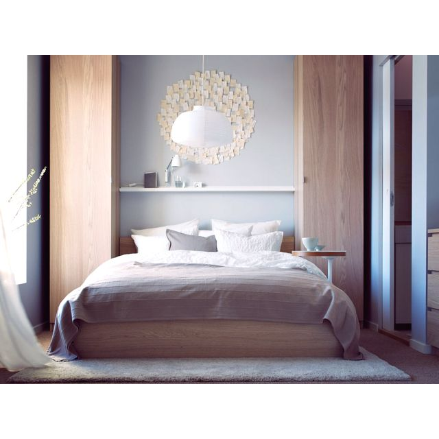 IKEA bedroom -like wardrobes on either side of bed For Camp - schlafzimmer set weiß
