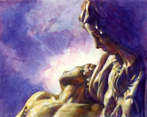 """There Is Love"" - Original Fine Art for Sale - © Mary Rochelle Burnham"
