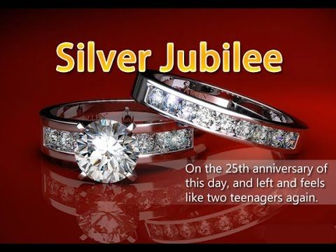 Happy 25th Wedding Anniversary Silver Jubilee Beautiful Wishes