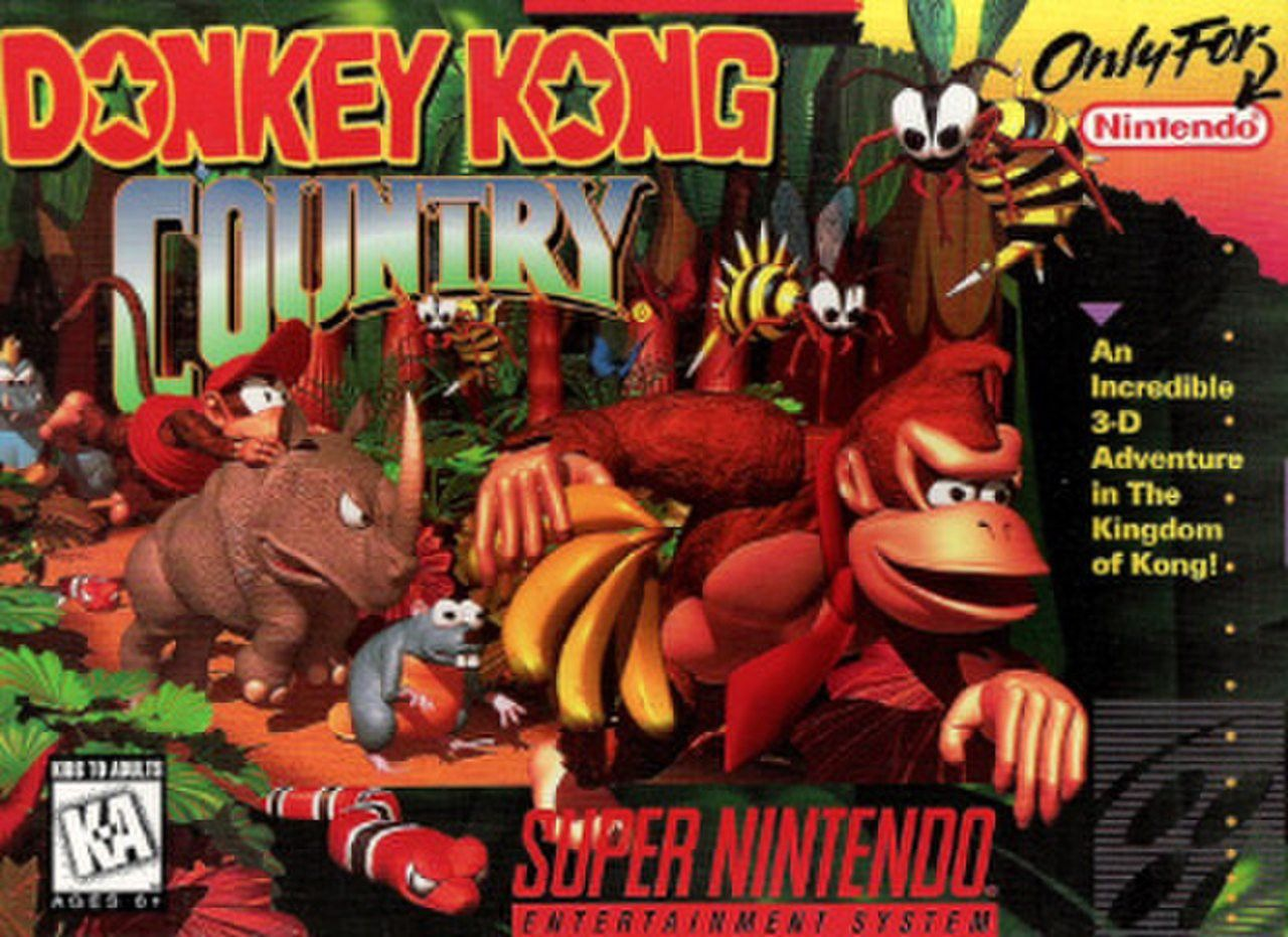 Pin by Jennyrigby Sz on 0 in 2020 Donkey kong country