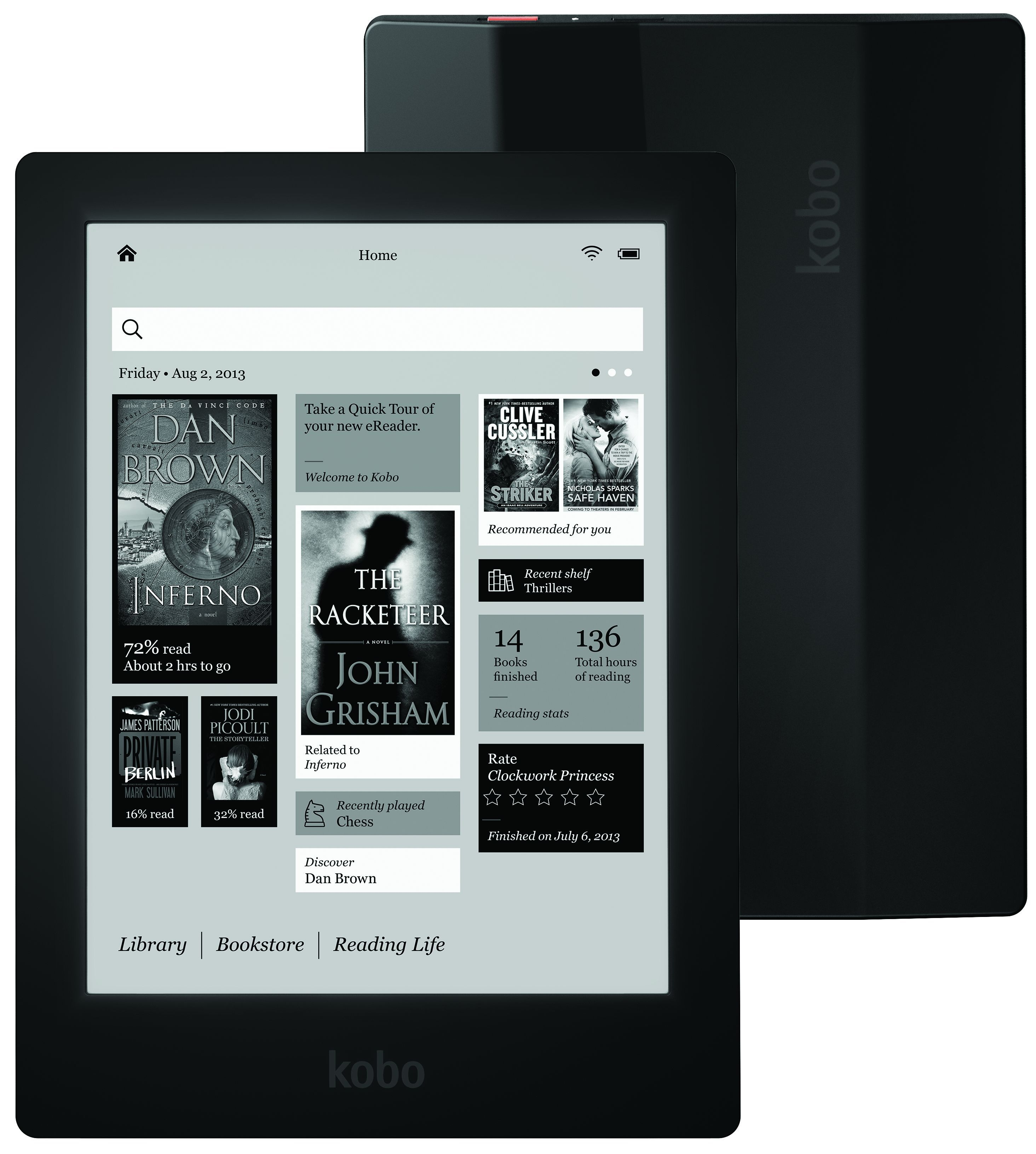 Kobo Unveils Aura Hd Porsche Of E Readers Kobo Ereader Ereader Ebook Reader