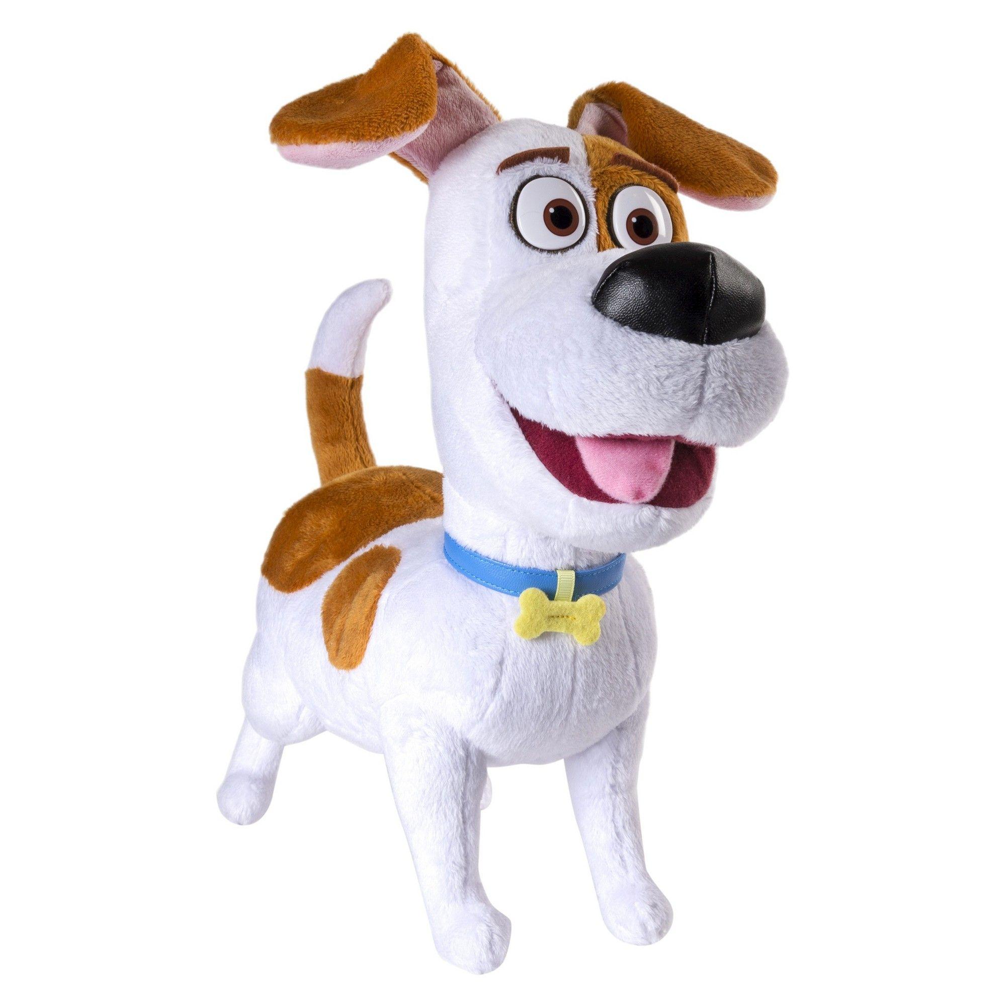 970e541758 The Secret Life of Pets - Max 12 Talking Plush Buddy