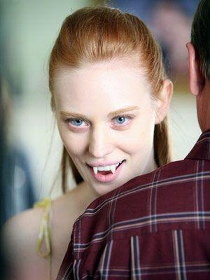 Don't mess with alabaster angels - NOM!  Deborah Ann Woll #trueblood