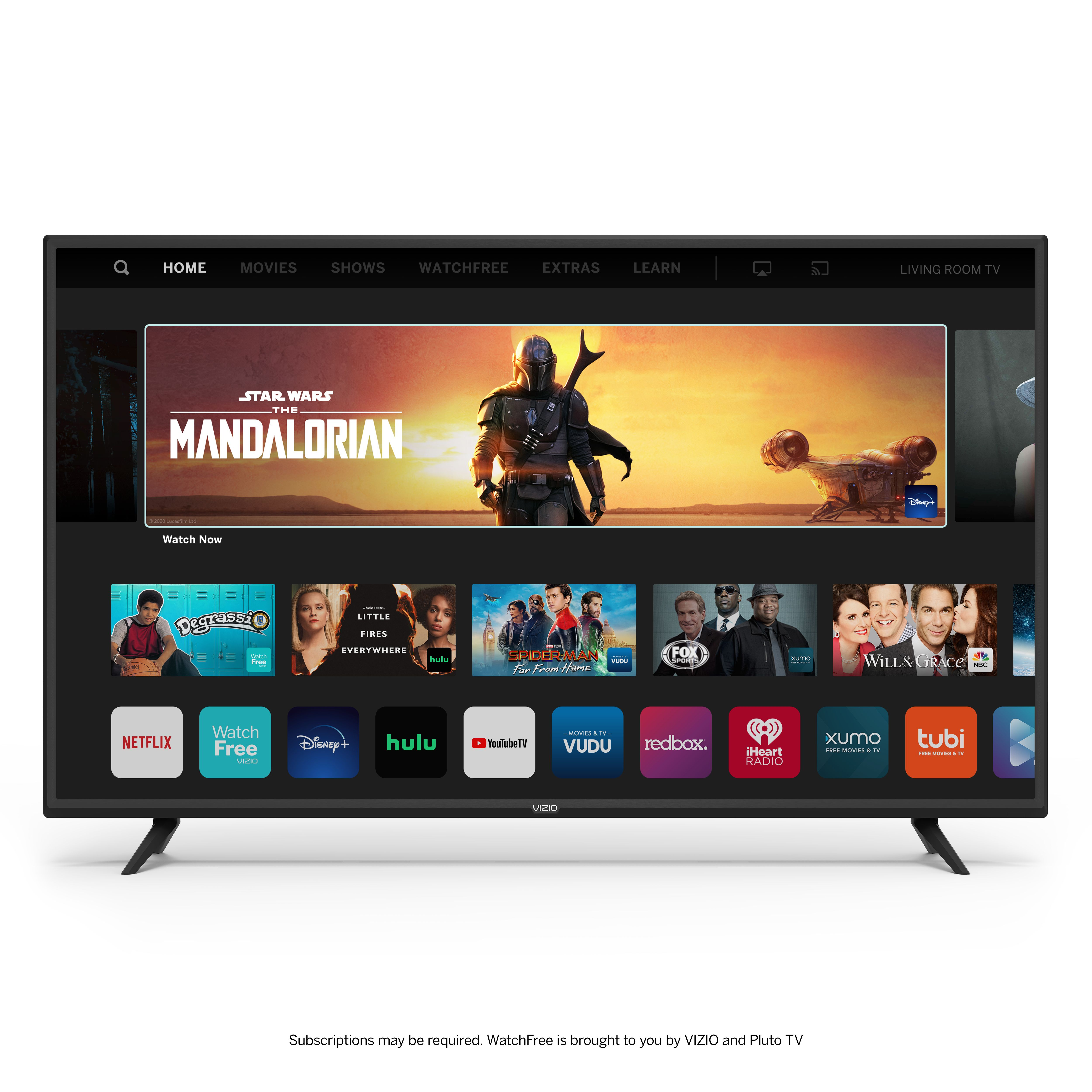 Vizio 50 Class 4k Uhd Led Smartcast Smart Tv V Series V505 G H Walmart Com In 2021 Smart Tv Vizio Alexa Enabled Devices