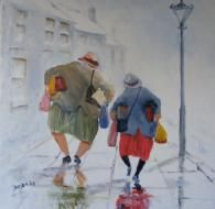 'Bargain Hunters' | Gallery | Des Brophy