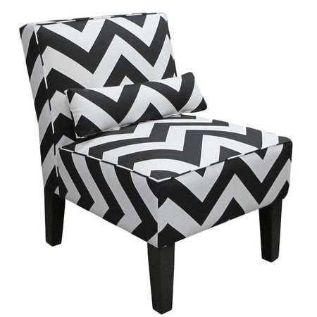 Superb Chevron Accent Chair Home Home Chair Accent Chairs Theyellowbook Wood Chair Design Ideas Theyellowbookinfo