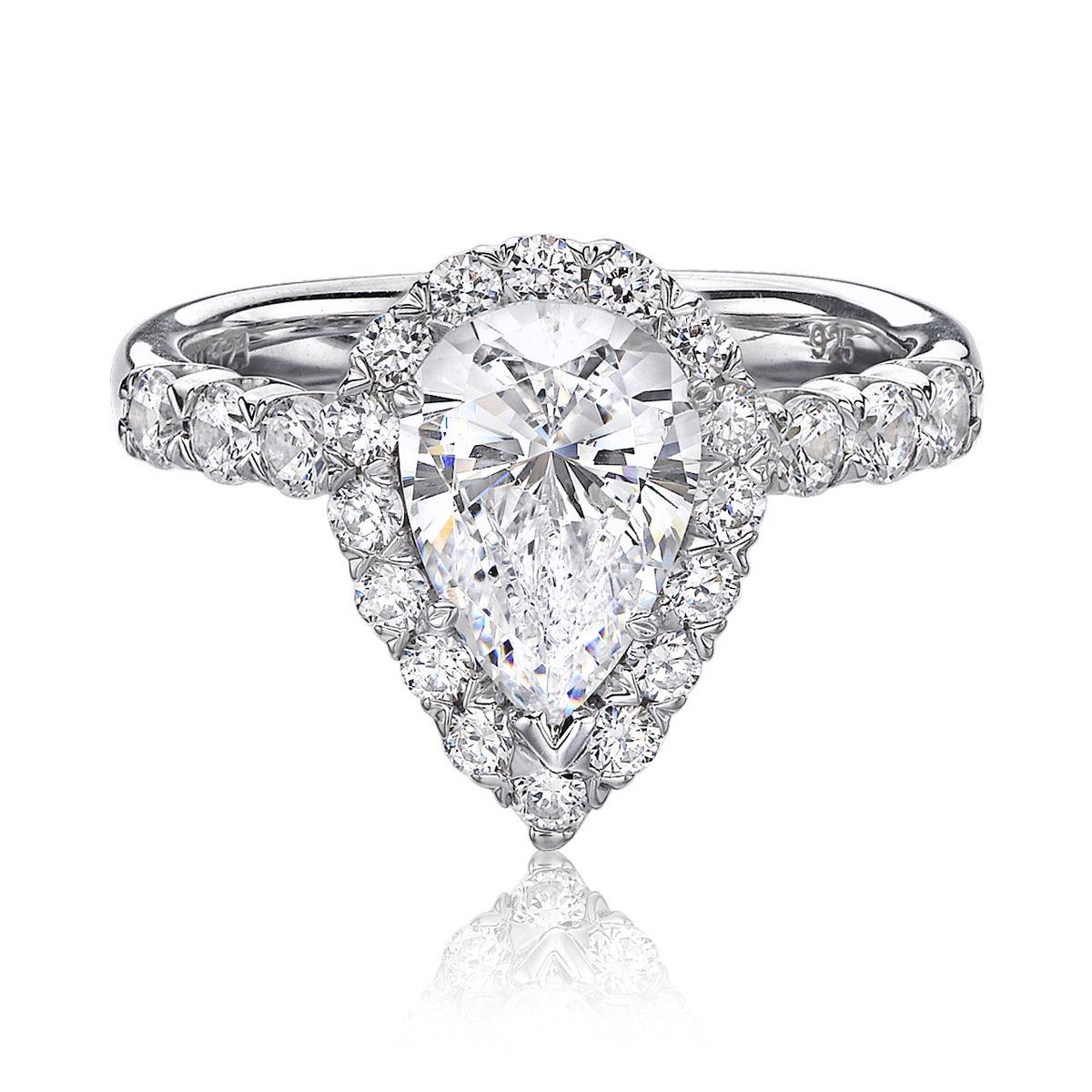 Engagement Rings York: Christopher Designs Of New York Diamond Engagement Ring