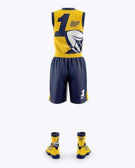 Download Basketball Jersey Mockup Psd Free Download di 2020 ...
