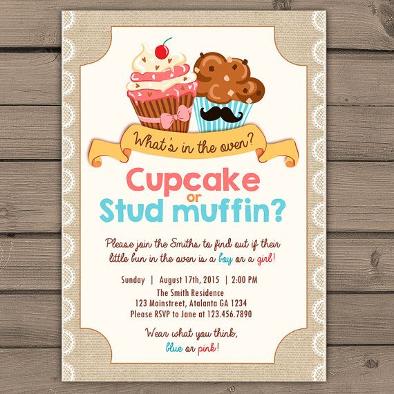 Cupcake or Studmuffin Reveal