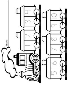 Kleurplaten Voertuigen Trein.Thema De Trein Google Zoeken Voertuigen Kleurplaten