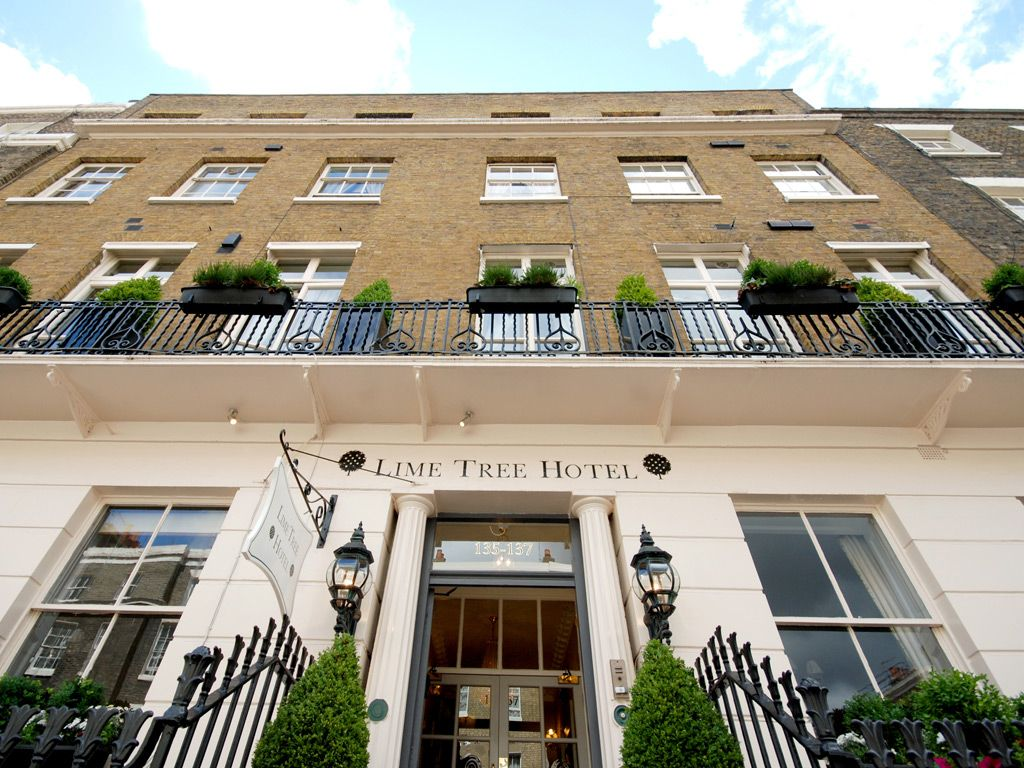 London Lime Tree Hotel Located Right In The Heart Of Belgravia Ideally Situated Halfway Between Victoria And Sloane Square Underground Stations Just