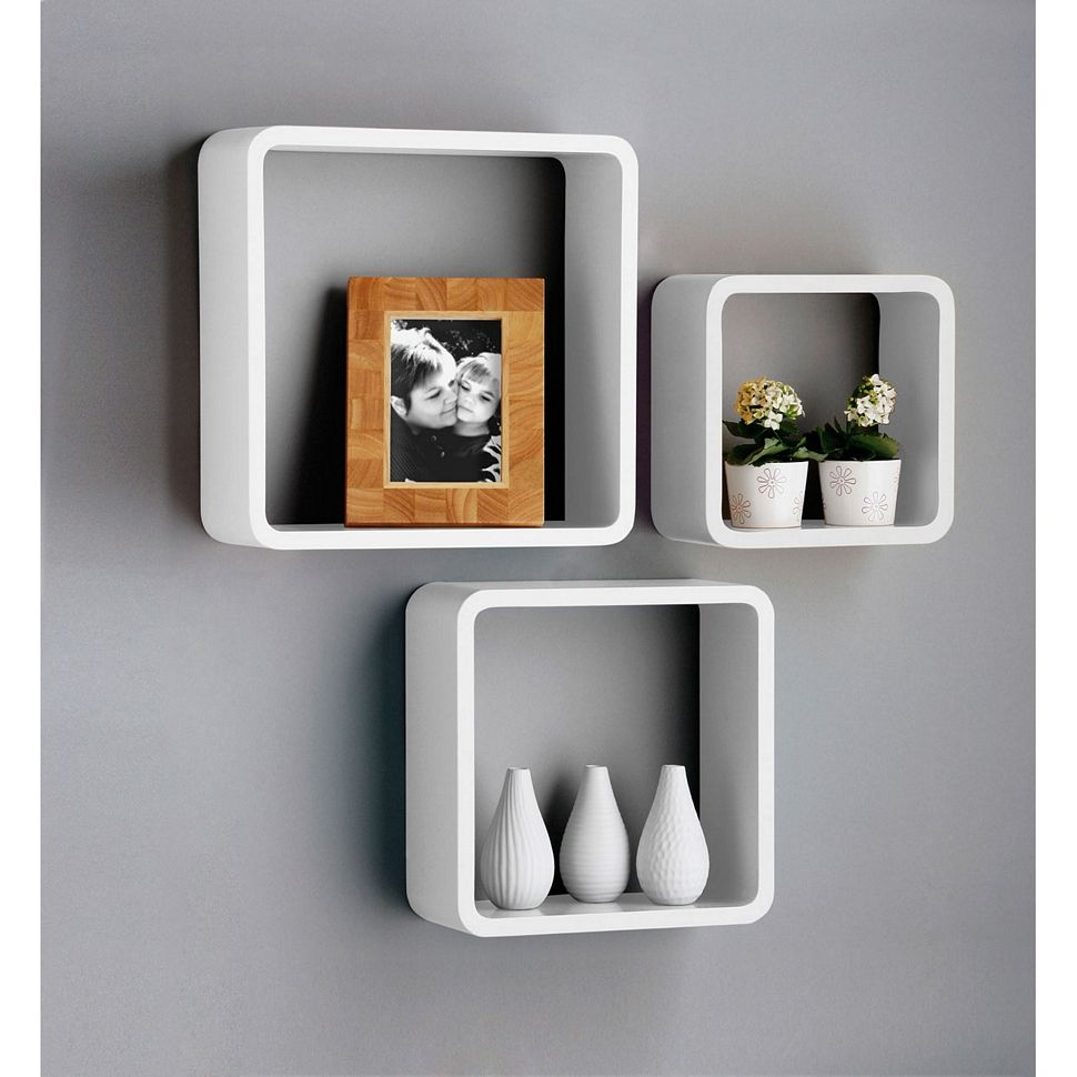 Be Creative With Cube Shelves In 2020 Wall Storage Shelves Floating Shelves Cubicle Accessories
