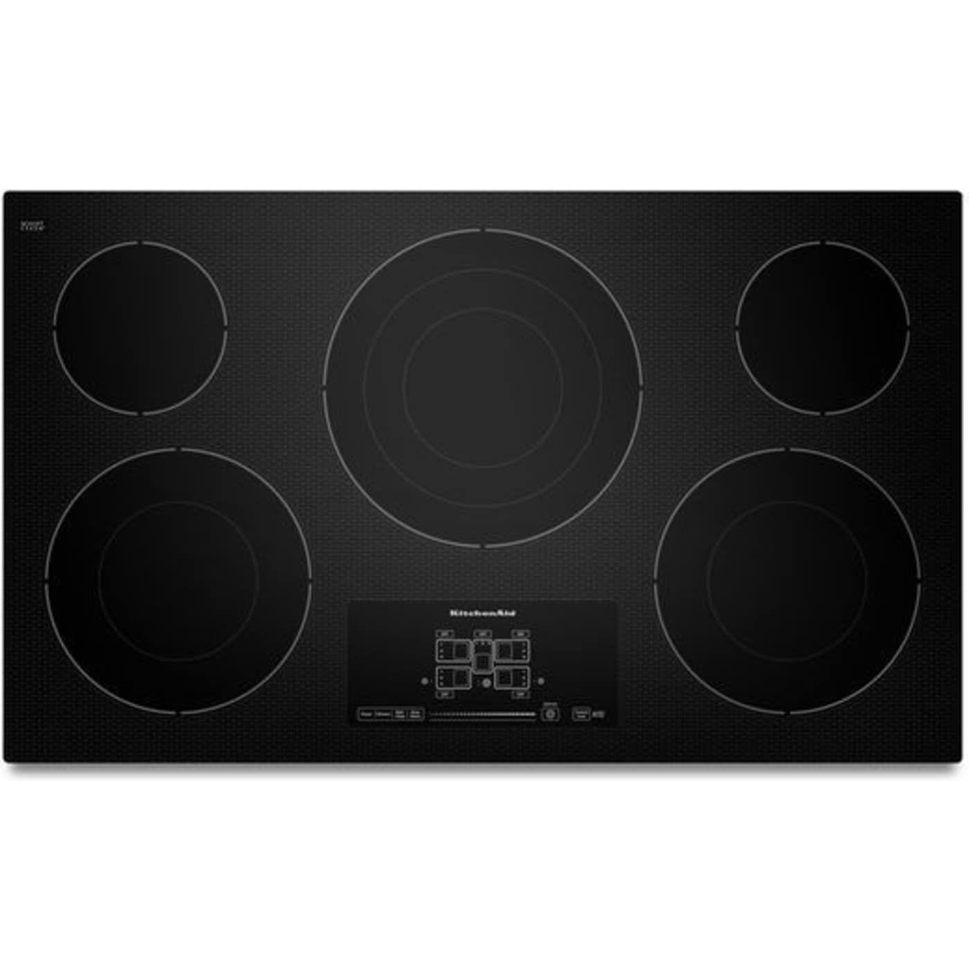 Kitchenaid Kecc667bbl Kitchen Aid Electric Cooktop Cooktop