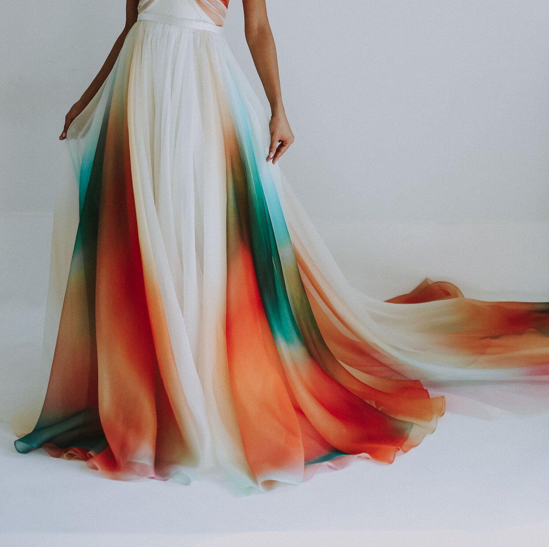 30+ Tie dye wedding dress video ideas in 2021