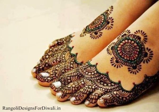 Mehndi Patterns For Legs : Top full hd beautiful mehndi designs for legs free dulhan