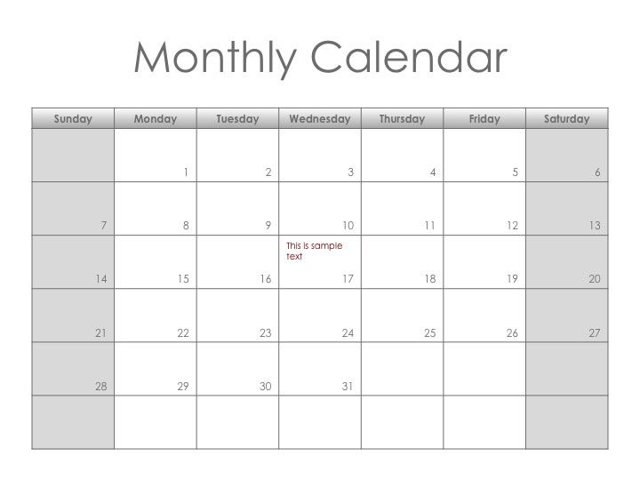 Monotone Monthly Planner Get This Free Printable Customizable