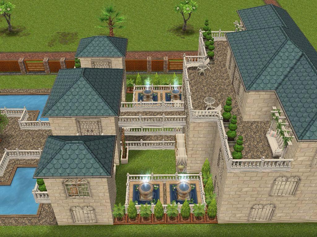 Sims 4 Loft Floor Plans