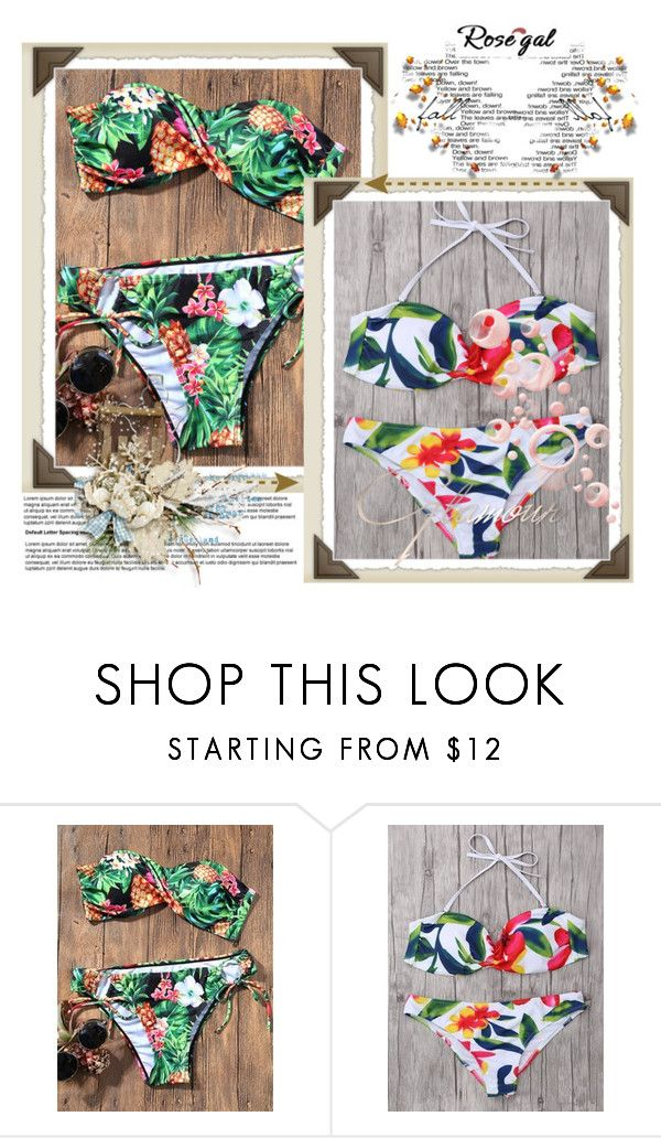 """""""Rosegal"""" by love-you-guys ❤ liked on Polyvore"""