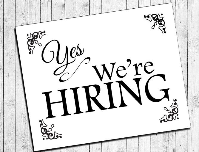We Are Hiring Quotes: Printable NOW HIRING Instant Download 8x10 Sign For