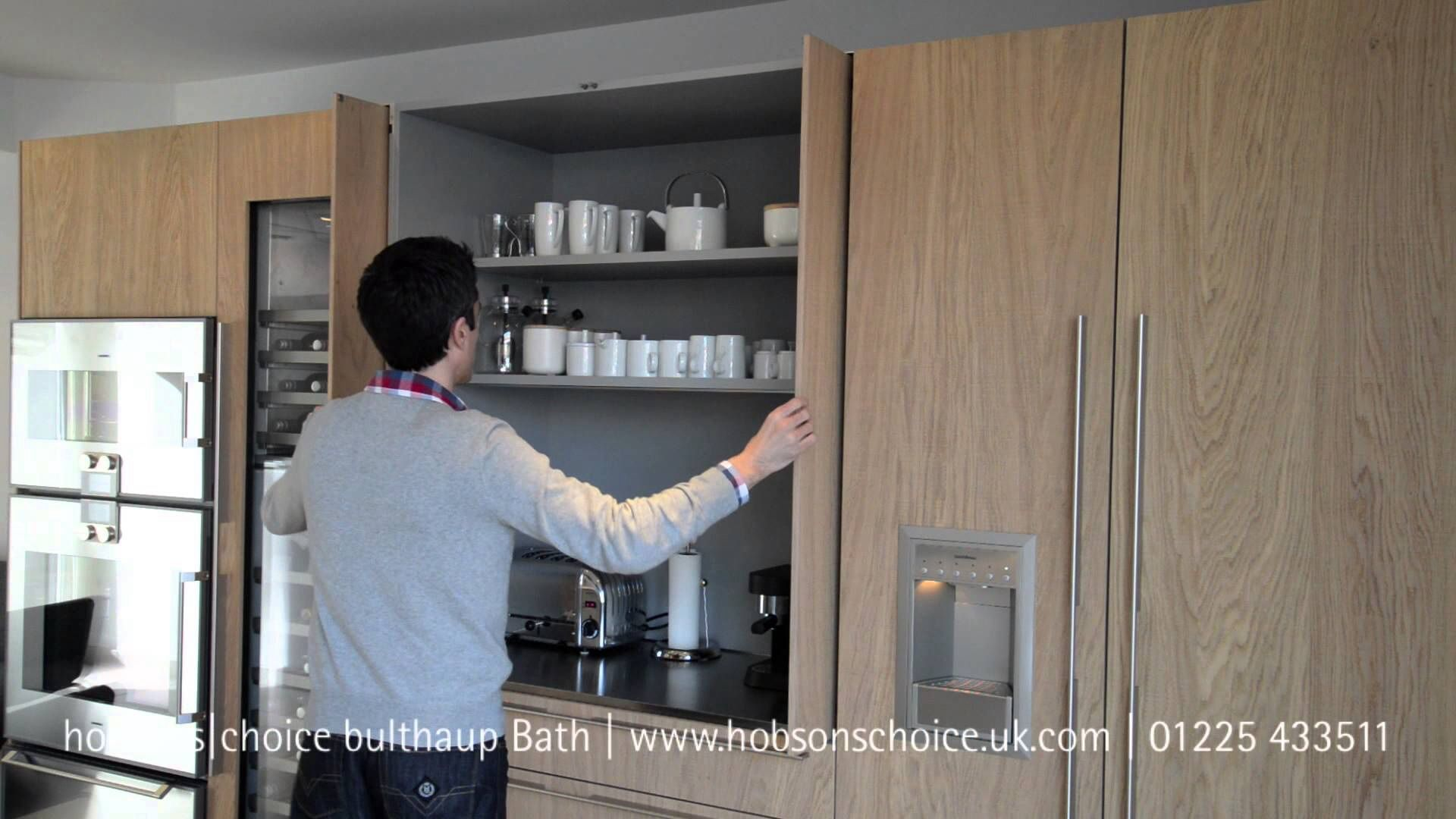 Pocket Door Coffee Station Sliding Cabinet Doors