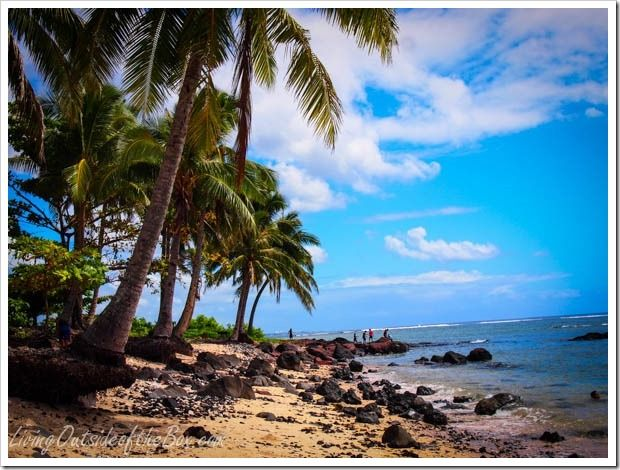 Beautiful beaches in Apia, Samoa