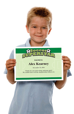 Soccer Certificates  Certificate And Template