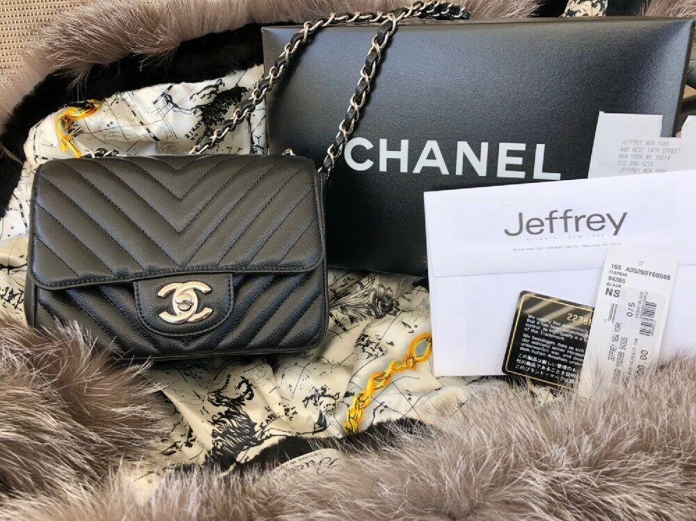 27fc5a668a34 AUTHENTIC CHANEL Mini Square Caviar | Fashion in 2019 | Chanel mini ...