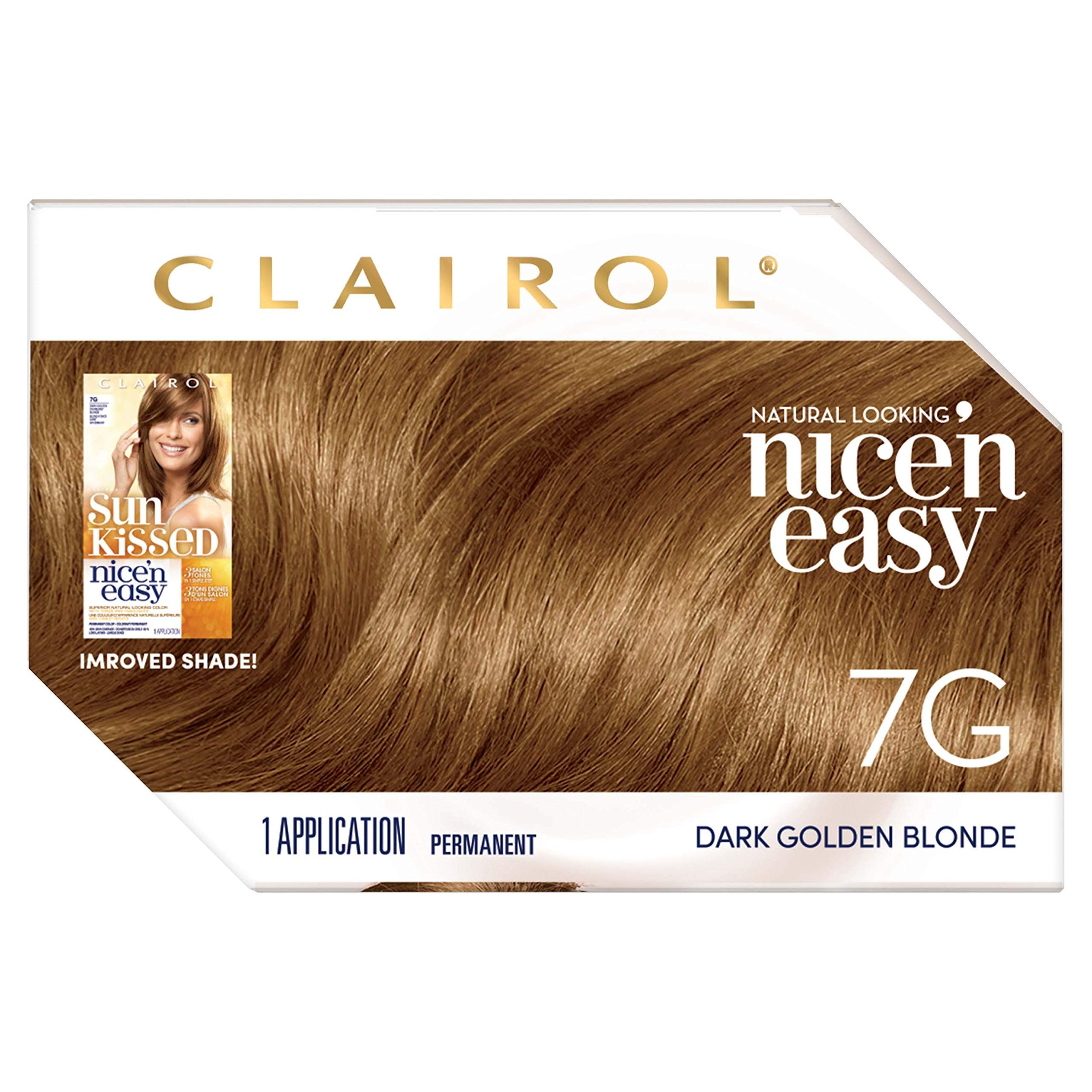 Clairol Nice N Easy Permanent Hair Color You Can Get Additional Details At The Image Link It Is An Affiliate L In 2020 Dark Golden Blonde Hair Color Golden Blonde