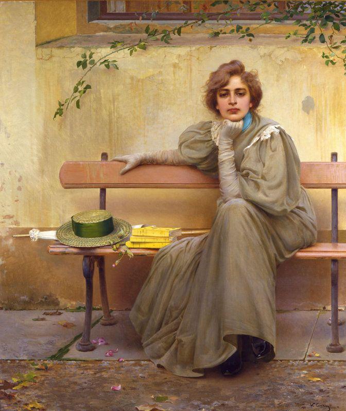 Sogni - Vittorio Corcos (1896)