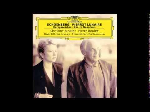 Arnold Schoenberg - Ode To Napoléon Bonaparte