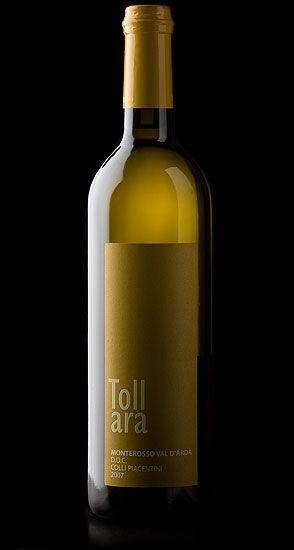 Etichetta del Monterosso di la Tollara