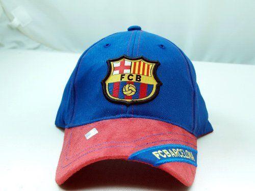 the latest 36ec9 cba65 FC BARCELONA FOOTBALL CLUB OFFICIAL LOGO SOCCER HAT CAP by F.C. Barcelona.   15.95. Top Quality, Manufactured by Rhinox Group. Officially licensed by  the ...