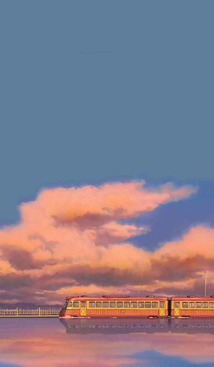 Ghibli Aesthetic Wallpaper - Books