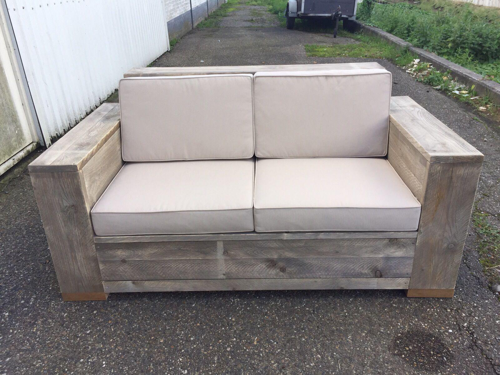 Kussens Pallet Bank : Houten banken voor buiten fresh vidaxl houten pallet lounge set