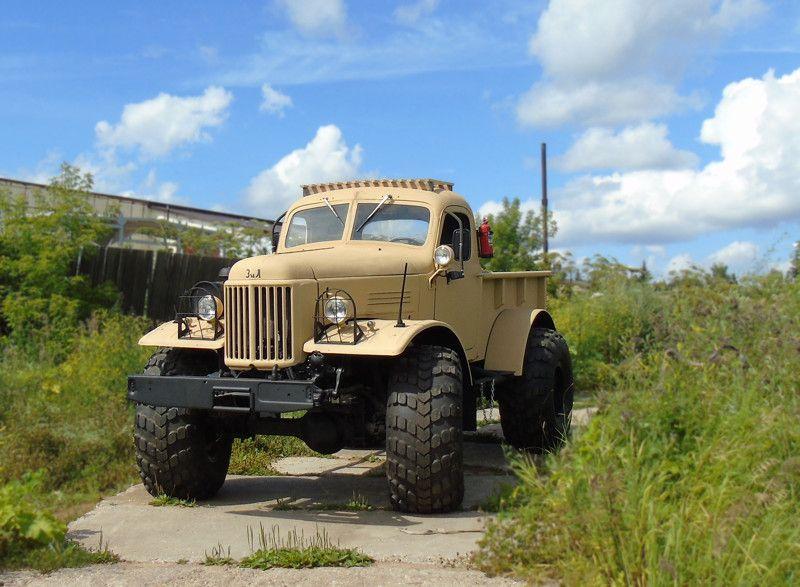 Лесоруб вернулся! ЗИЛ 157 (10 фото)   Expedition truck ...