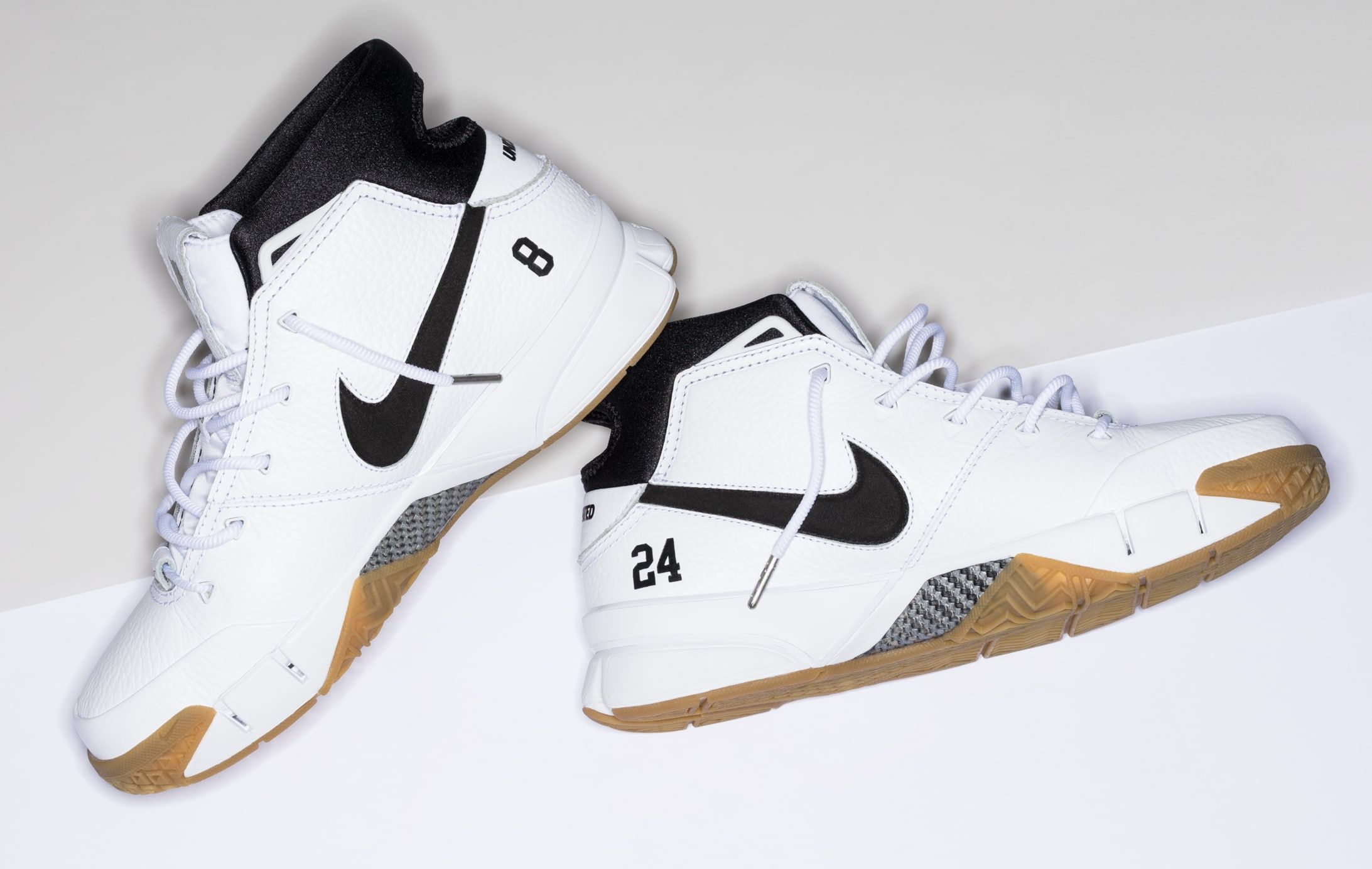 huge discount 151d6 725a0 Undefeated x Nike Kobe 1 Protro  White Gum  3