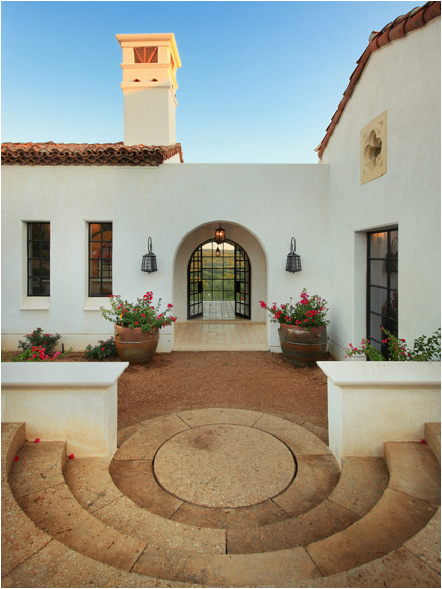 Best Exterior Spanish Style Home Clay Terracotta Tile Roof 400 x 300