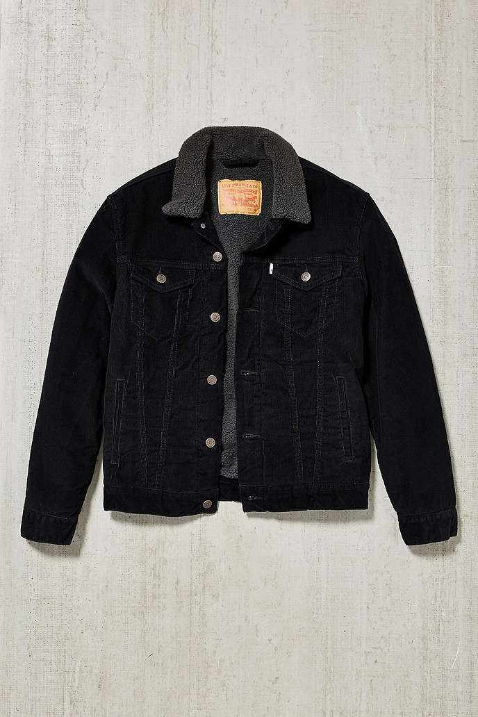 Levis Corduroy Sherpa Trucker Jacket - Urban Outfitters   เท่ห์ๆ. มี ... f171b3af5c78