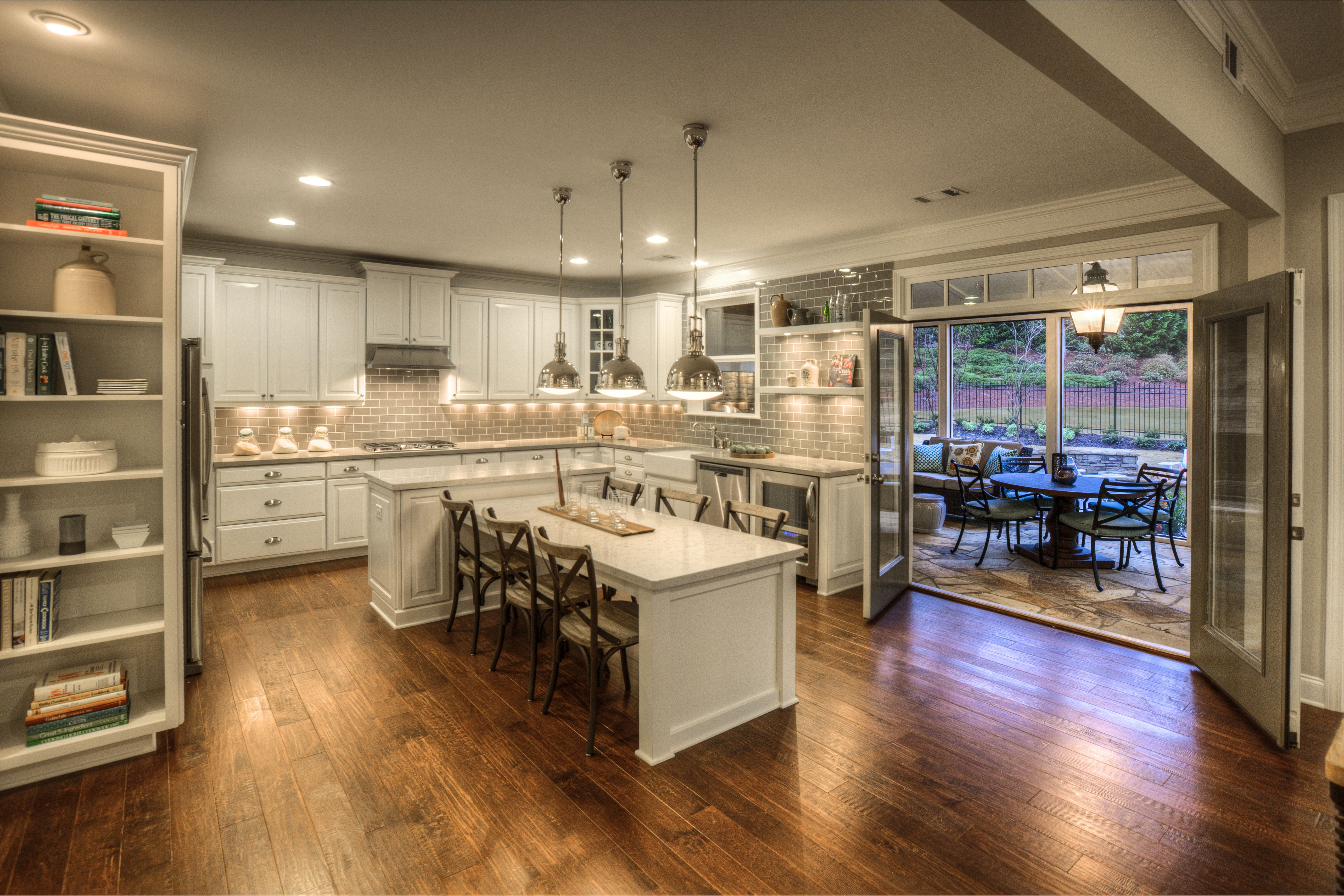 Inspiring Spaces Blog Kitchen Island And Table Combo Kitchen Island Table Kitchen Island Design