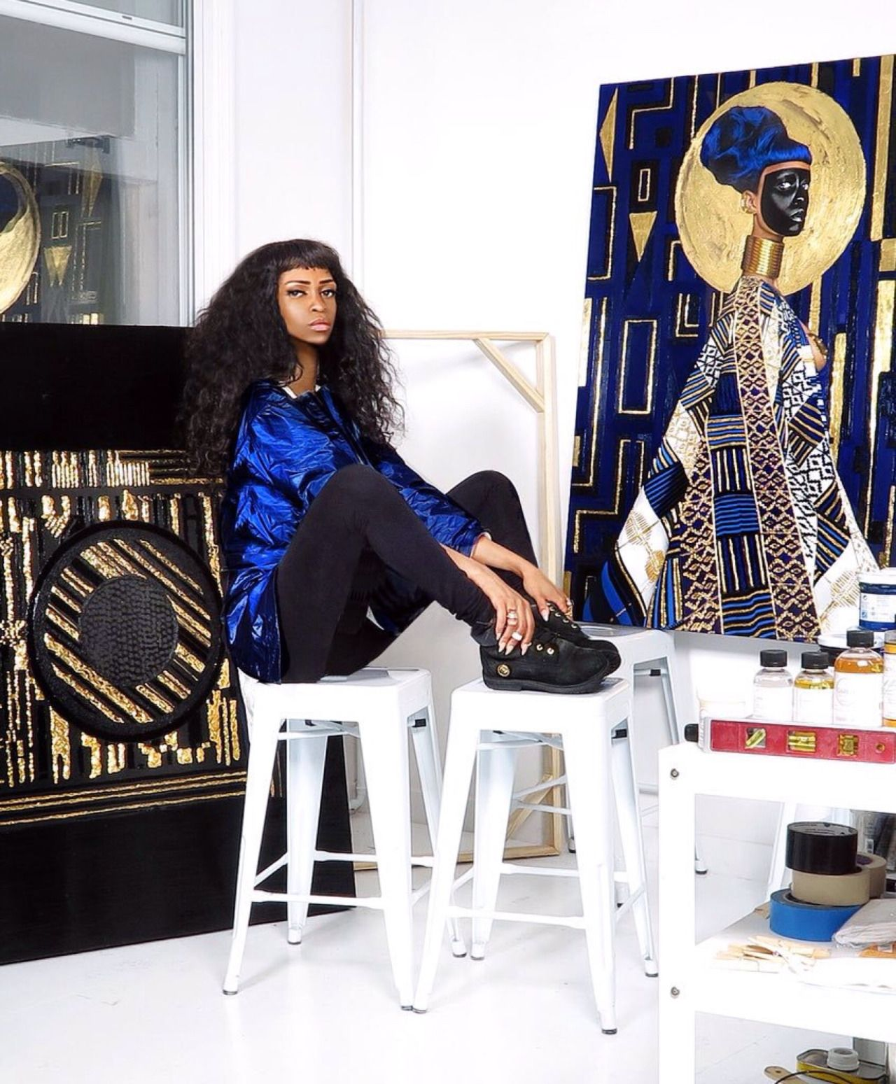 Five transcendental young black artists in contemporary