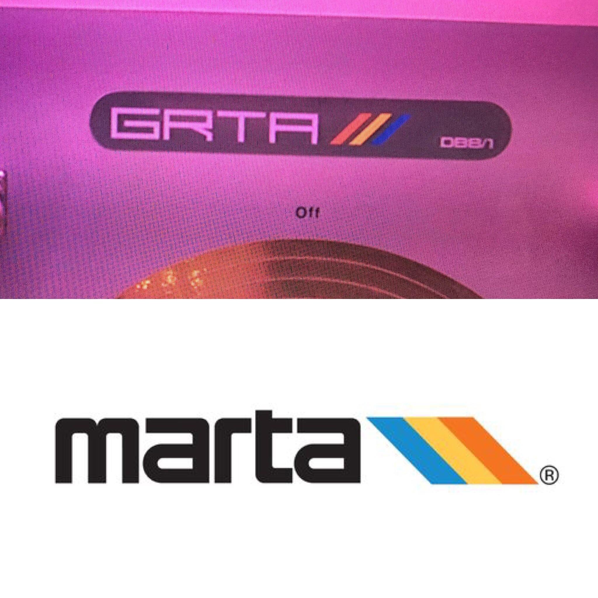 Noticed this MARTAesque logo in Maniac on Netflix