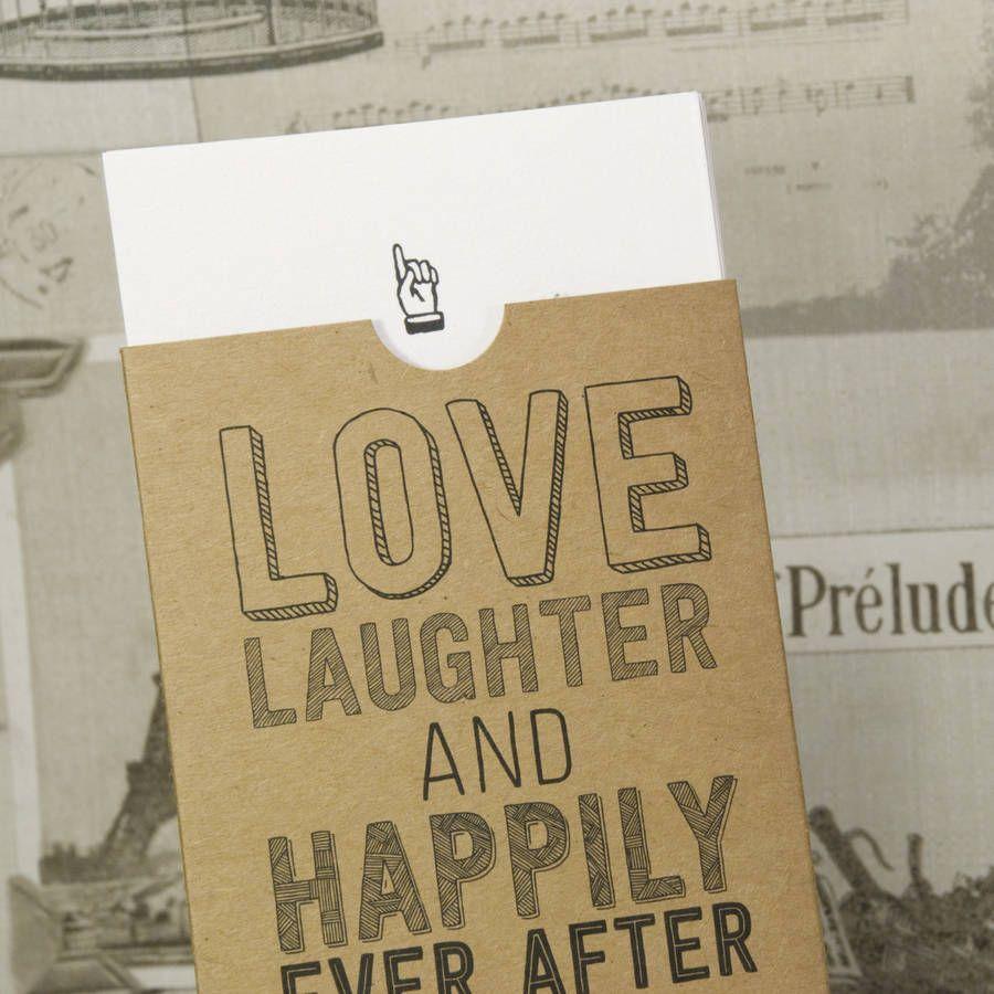 Sketch Sleeve\' Vintage Kraft Wedding Invitation | Weddings and Wedding