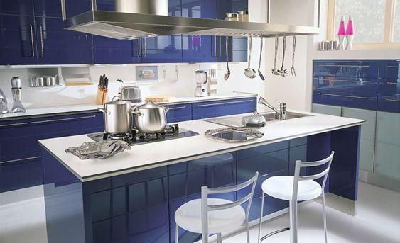 15 High Gloss Kitchen Designs In Modular Kitchen Colours Kitchen Design Kitchen Color Kitchen Room Design