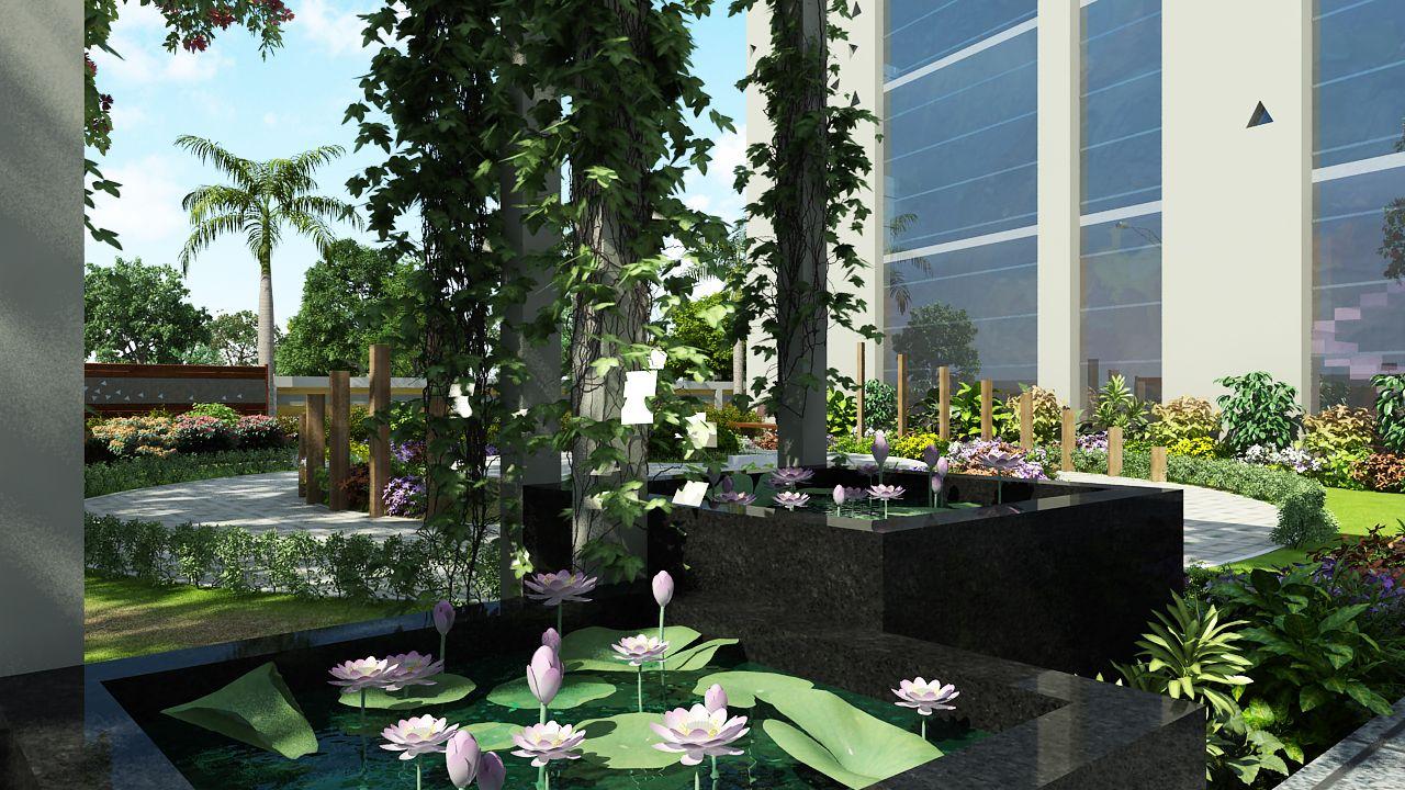 esplanade 5 Plants, Garden, Architecture