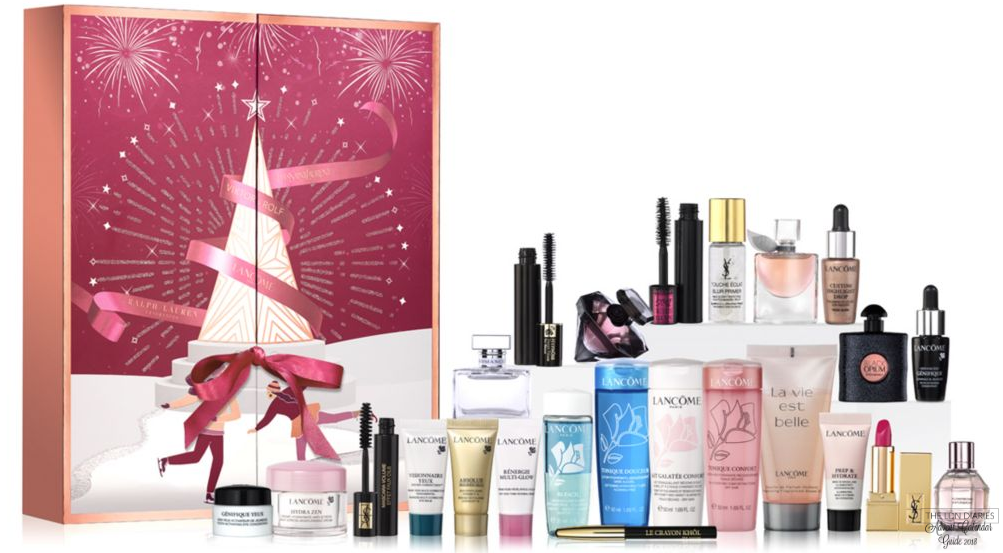 Lancome Calendrier De Lavent.Lancome Loreal Boots Advent Calendar 2018 The Ldn Diaries