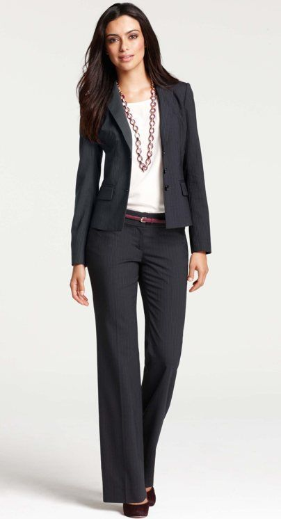 8b539f38a3 well-accessorized suit x Ann Taylor