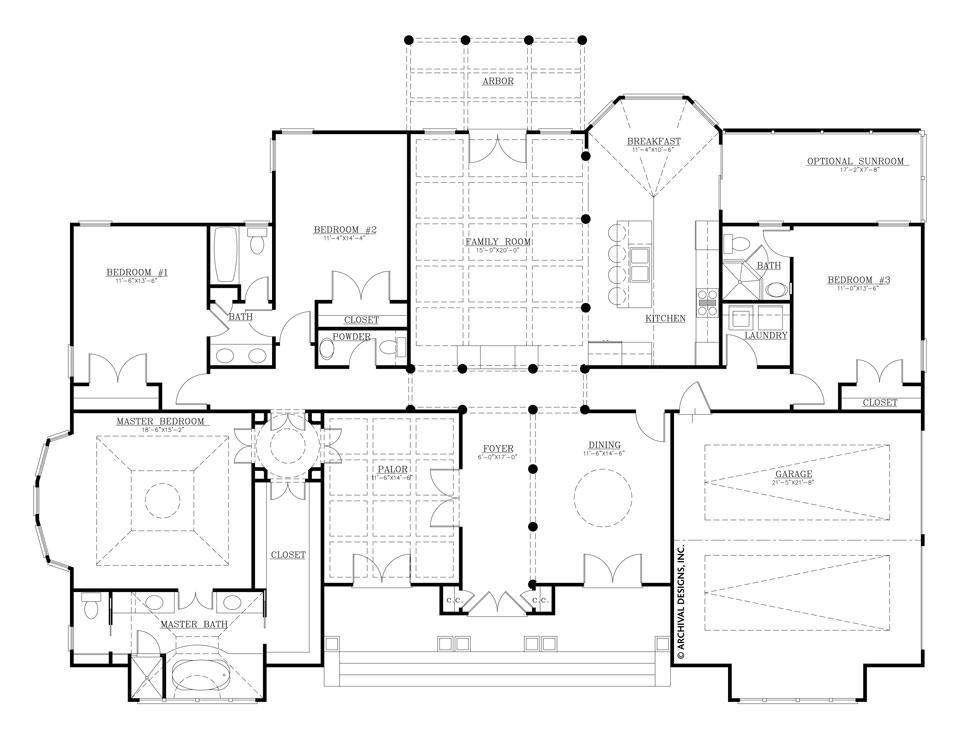 Https Cdn Shopify Com S Files 1 2829 0660 Products Nantucket Ff M 1024x1024 Jpg V 1535395851 House Plans Retirement House Plans Ranch House Plans