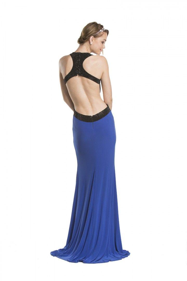Coya cl1417 coya collection backless dress formal