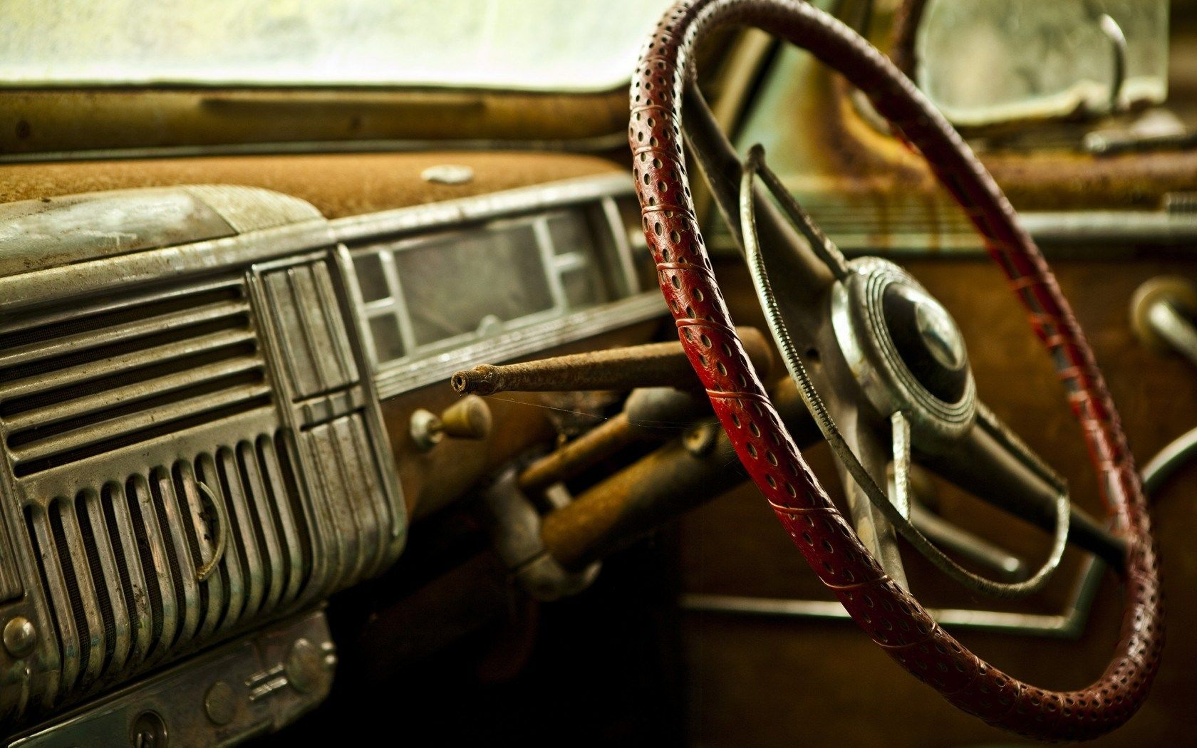 Classic Car Interior Wallpaper 36889 Retro Background Vintage Cars Car Wallpapers
